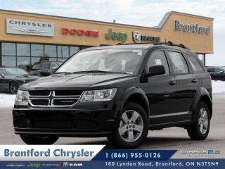 New 2018 Dodge Journey Canada Value Pkg  - $175.44 B/W for sale in Brantford, ON