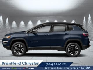 New 2019 Jeep Compass Trailhawk  - Leather Seats for sale in Brantford, ON