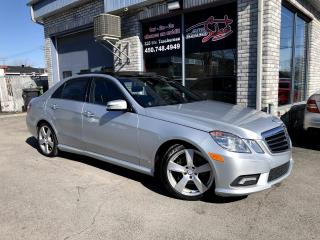 Used 2010 Mercedes-Benz E-Class E 350 berline 4 portes 4MATIC Navigation for sale in Longueuil, QC