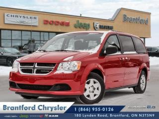 Used 2013 Dodge Grand Caravan SE/SXT  -  - Air - Tilt - $125.32 B/W for sale in Brantford, ON