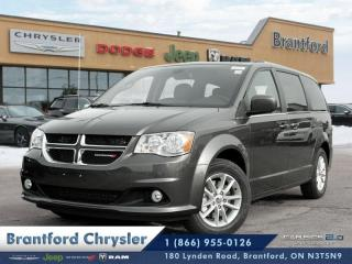 New 2019 Dodge Grand Caravan SXT Premium Plus  -  Uconnect - $224.58 B/W for sale in Brantford, ON