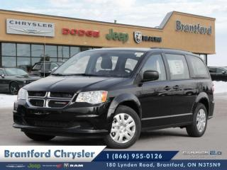 New 2019 Dodge Grand Caravan Canada Value Package  - $186.28 B/W for sale in Brantford, ON