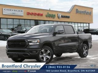 New 2019 RAM 1500 Sport  - Navigation -  Uconnect for sale in Brantford, ON