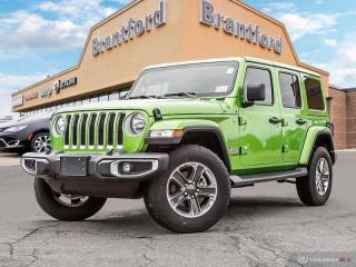 New 2019 Jeep Wrangler Unlimited Sahara  - Navigation - $326.83 B/W for sale in Brantford, ON