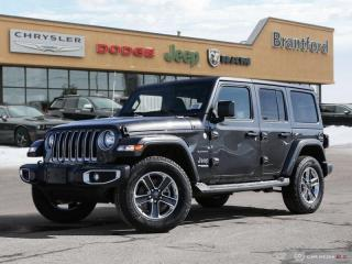 Used 2019 Jeep Wrangler Unlimited Sahara  - Navigation - $354.59 B/W for sale in Brantford, ON