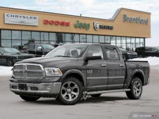 Used 2015 RAM 1500 Laramie  - Leather Seats -  Cooled Seats - $254.17 B/W for sale in Brantford, ON