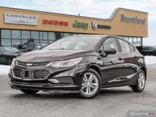 Used 2018 Chevrolet Cruze LT  - Bluetooth -  Heated Seats - $128.34 B/W for sale in Brantford, ON