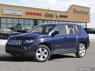 Used 2017 Jeep Compass Sport  - Cruise Control -  Chrome Trim - $130.23 B/W for sale in Brantford, ON