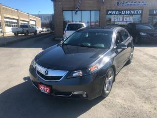 Used 2012 Acura TL LEATHER/SUNROOF/AWD for sale in North York, ON