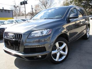 Used 2012 Audi Q7 TDI S-LINE~PREMIUM+~83KMS~PANO ROOF~LEATHER for sale in Burlington, ON