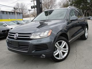 Used 2011 Volkswagen Touareg TDI ~DIESEL~NAVI~PANO ROOF~181KMS~LEATHER ! for sale in Burlington, ON