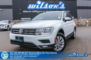 Used 2018 Volkswagen Tiguan Trendline AWD - Android Auto & Apple CarPlay, Heated Seats, Rear Camera, Alloy Wheels and more! for sale in Guelph, ON