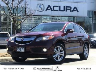 Used 2015 Acura RDX at V6 AWD, Power Moonroof, Rearview Camera for sale in Markham, ON