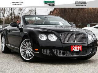 Used 2011 Bentley GTC  Speed Convertible for sale in North York, ON