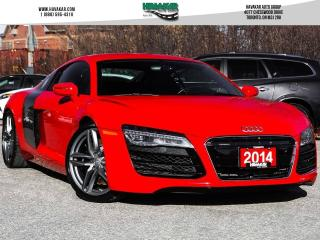Used 2014 Audi R8 4.2 for sale in North York, ON