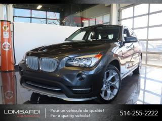 Used 2015 BMW X1  xDRIVE 28i TOIT PANO BLUETOOTH CUIR MAG for sale in Montréal, QC