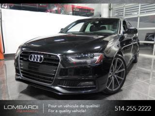 Used 2015 Audi A4 PROGRESSIV PLUS|S-LINE|MANUEL|NAVI| for sale in Montréal, QC