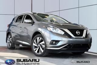 Used 2015 Nissan Murano Platinum automatique for sale in St-Hyacinthe, QC