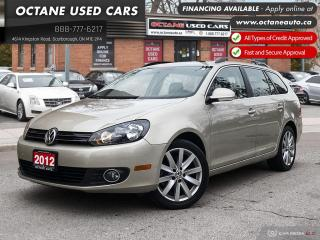 Used 2012 Volkswagen Golf 2.0 TDI Highline Accident Free! Navi! B.Up Cam! for sale in Scarborough, ON