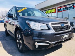 Used 2017 Subaru Forester 2.5i Tourisme for sale in Lévis, QC
