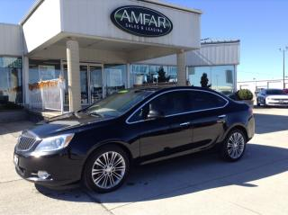 Used 2012 Buick Verano LEATHER / LOADED / NO PAYMENTS FOR 6 MONTHS !! for sale in Tilbury, ON