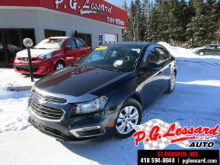 Used 2015 Chevrolet Cruze Lt Camera De for sale in St-Prosper, QC