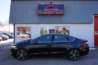 Used 2016 Ford Fusion SE AWD for sale in Lévis, QC