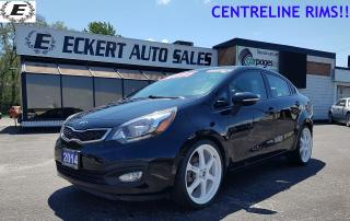 Used 2014 Kia Rio SX WITH NAV/BLUETOOTH/LEATHER for sale in Barrie, ON