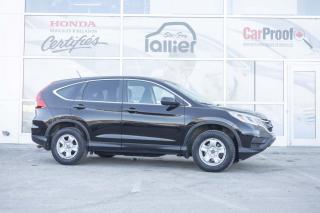 Used 2015 Honda CR-V LX ***GARANTIE 10 ANS/200 000 KM*** for sale in Québec, QC