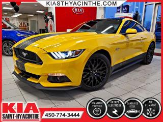 Used 2017 Ford Mustang GT 5.0L ** FREINS BREMBO / SIÈGES RECARO for sale in St-Hyacinthe, QC