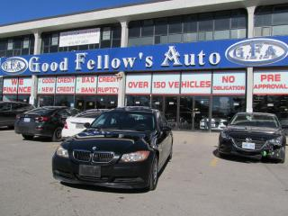 Used 2007 BMW 323i ALLOY RIMS, LEATHER SEATS, BLUETOOTH for sale in Toronto, ON