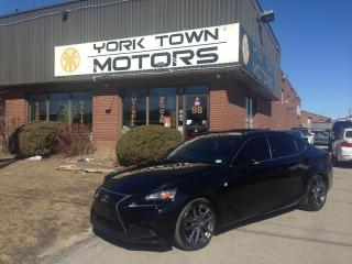 Used 2015 Lexus IS 250 F-Sport/AWD/RedInt/Nav/BackCam/SunRoof/NoAccidents for sale in North York, ON