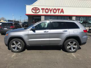 Used 2016 Jeep Grand Cherokee Limited AWD ,leather , moonroof for sale in Cambridge, ON
