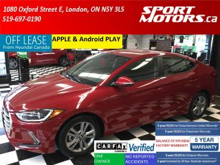 Used 2017 Hyundai Elantra GL+Camera+Blind Spot & Cross Traffic+Apple Play+AC for sale in London, ON