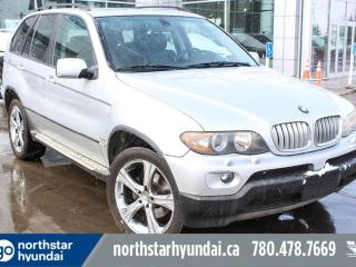 Used 2004 BMW X5 3.0i/XDRIVE/LEATHER/SUNROOF/NAV for sale in Edmonton, AB