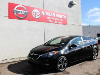 Used 2016 Kia Forte SX NAVIGATION SUNROOF LEATHER for sale in Edmonton, AB