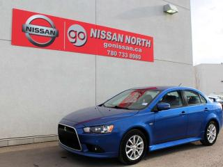 Used 2015 Mitsubishi Lancer SE AUTOMATIC WITH SUNROOF for sale in Edmonton, AB