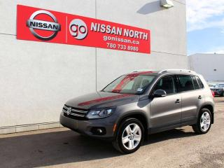 Used 2015 Volkswagen Tiguan 4 MOTION PANORAMIC SUNROOF BACK UP CAMERA for sale in Edmonton, AB