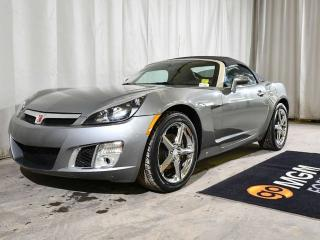 Used 2007 Saturn Sky RED LINE CONVERTIBLE | 5-SPEED MANUAL | 2 PASSENGER | LEATHER for sale in Red Deer, AB