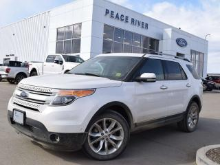 Used 2015 Ford Explorer LIMITED for sale in Peace River, AB