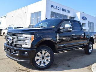 New 2019 Ford F-350 Super Duty SRW Platinum 4x4 SD Crew Cab 160.0 in. WB for sale in Peace River, AB