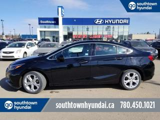 Used 2018 Chevrolet Cruze PREMIER/LEATHER/BACK UP CAMERA/HEATED SEATS/WHEEL for sale in Edmonton, AB
