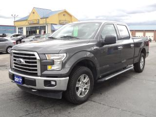 Used 2017 Ford F-150 XLT SuperCrew XTR 4X4 5.0L 6.5ft Box BackUpCamera for sale in Brantford, ON
