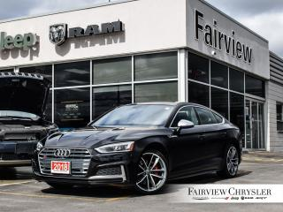 Used 2018 Audi S5 3.0T Technik   Sold BY Nick Thank YOU!!! for sale in Burlington, ON