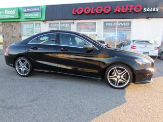 Used 2014 Mercedes-Benz CLA-Class CLA250 4MATIC AMG PKG SUNROOF CERTIFIED 2014 Mercedes-Benz CLA-Class CLA250 4MATIC SUNROOF CERTIFIED 2YR WARRANTY for sale in Milton, ON