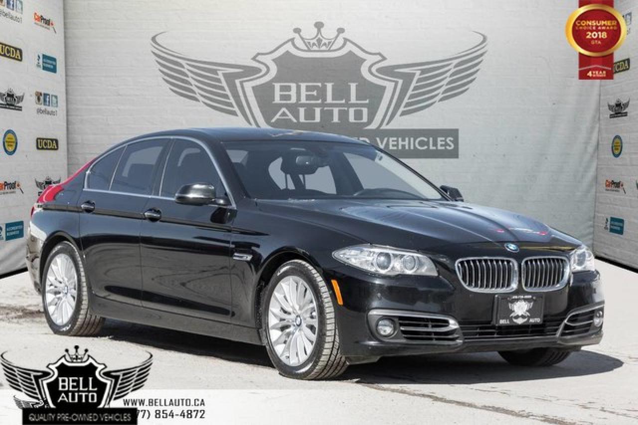 2015 BMW 5 Series 528i xDrive, PREMIUM PKG, NAVI, 360 CAM, MOONROOF, SENSORS, BLUETOOTH