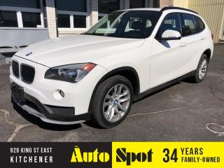 Used 2015 BMW X1 xDrive28i/LEATHER/PANORAMIC ROOF for sale in Kitchener, ON