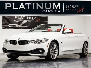Used 2016 BMW 428i xDrive CABRIOLET, NAVI, CAM, RED Lthr for sale in Toronto, ON