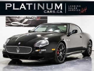 Used 2006 Maserati GranSport CAMBIOCORSA F1 PADDLE SHIFT, CARBON FIBER, LEATHER for sale in Toronto, ON