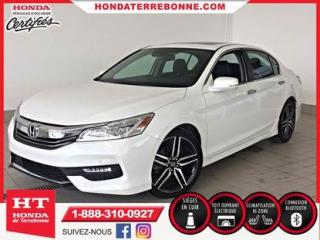 Used 2017 Honda Accord Touring for sale in Terrebonne, QC